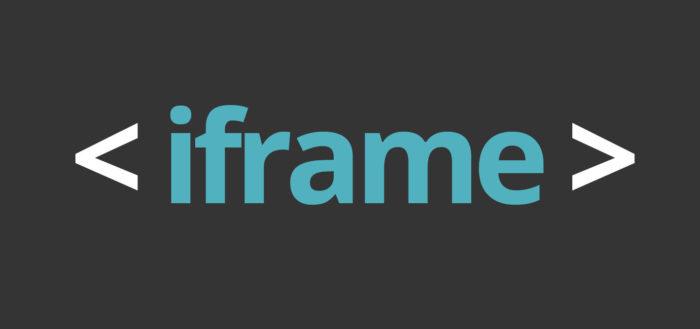 как сделать iframe